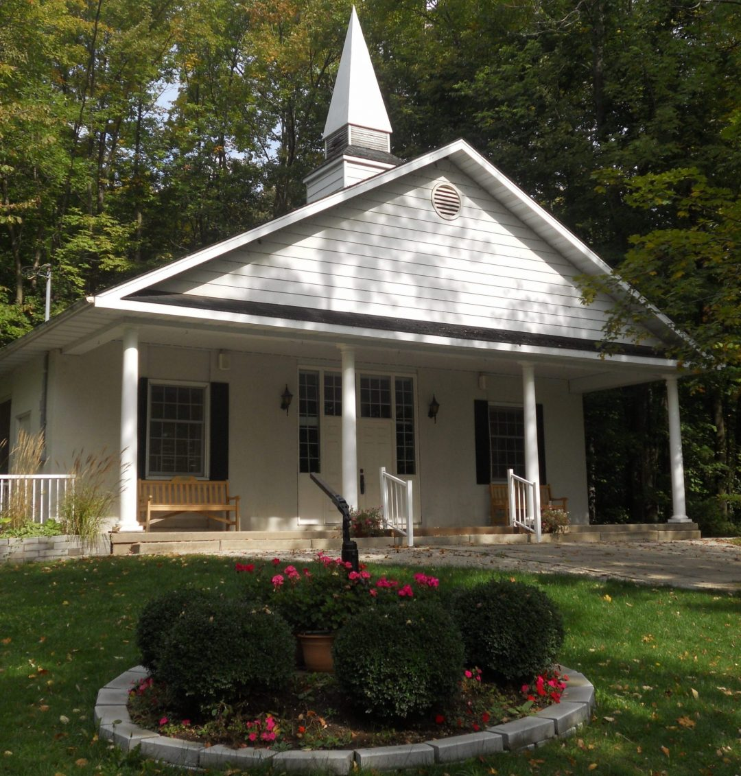 Hallman Chapel at Chesley Lake Camp